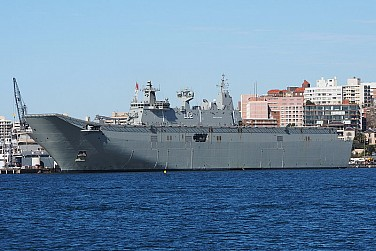 Australia's Largest Surface Warship to Participate in RIMPAC 2016