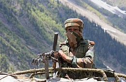 India-Pakistan Clashes in Kashmir