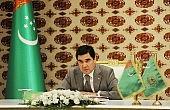 Turkmen Leader Makes First Visit to Kyrgystan