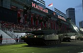 Singapore Celebrates Independence With Large Military Parade