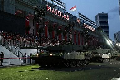 Singapore Celebrates Independence With Large Military Parade