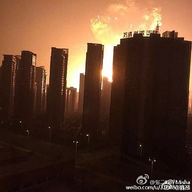 Breaking: Massive Explosions Rock China's Tianjin