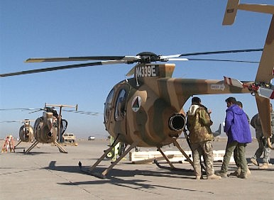 Afghan Air Force to Receive 5 More Attack Helicopters