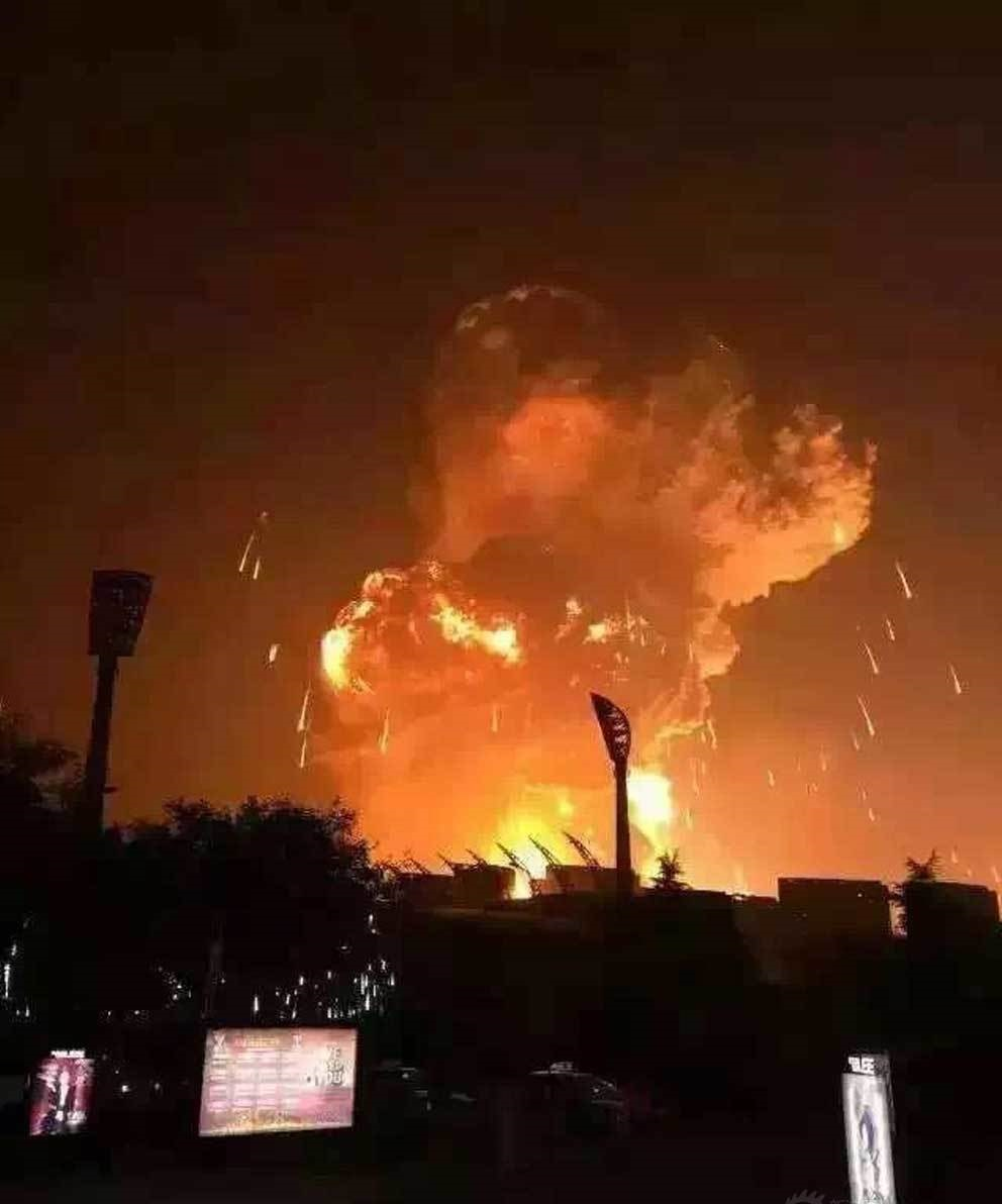 The Tianjin Explosion, As Chronicled on Chinese Social Media