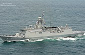 ROK Navy Launches New Guided-Missile Frigate to Deter North Korea