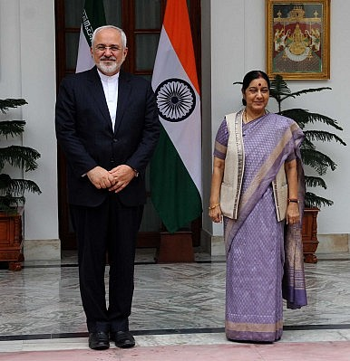 Iranian Foreign Minister Visits India