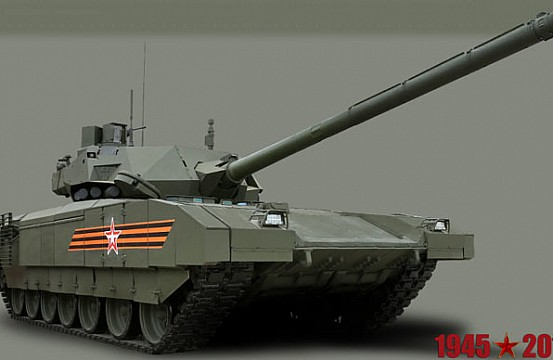 7774f714a0b1 Russia s Military to Receive 100 New T-14 Armata Battle Tanks