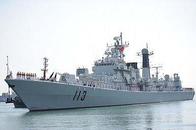 China Holds Air and Sea Exercise in East China Sea