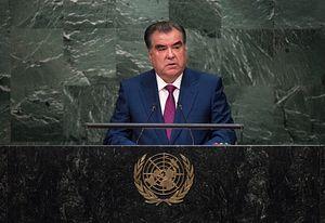 Tajik President Says 'Certain States' Have 'Evil Plans' for Tajikistan