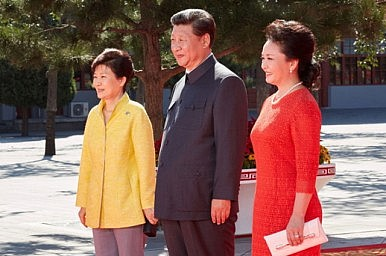 South Korea's President and China's Military Parade