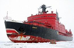Russia to Commission World's Largest Nuclear Icebreaker in 2019