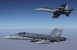 Australia Begins Flights Over Syria