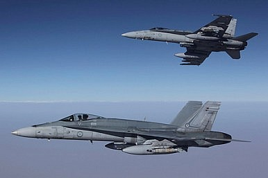 Australia Begins Flights Over Syria