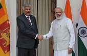 India and Sri Lanka Vow to Increase Security and Economic Cooperation