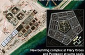 South China Sea: Satellite Imagery Shows China's Buildup on Fiery Cross Reef