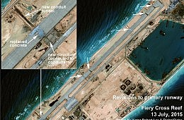 China Defends Airstrip Construction in the South China Sea