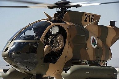 Afghanistan's Newest Attack Helicopter a 'Total Mess'?