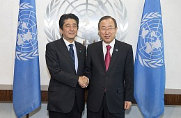 Abe Outlines Why Japan Should Join the UN Security Council