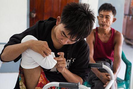 The Landmine Victims of Myanmar's Civil War