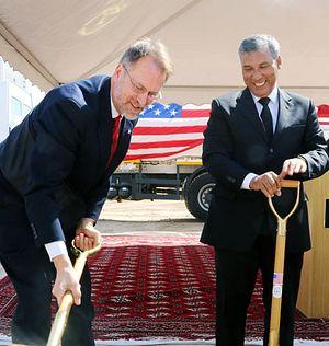 US Breaks Ground on New Embassy in Turkmenistan