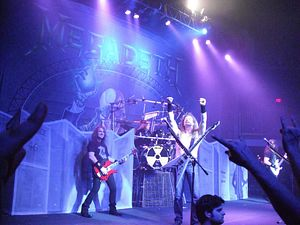 Megadeth's First Show in China Censored