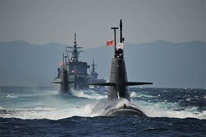 Japan's Fleet Review: Abe Boards US Warship for First Time Ever