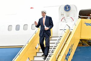 Kerry Off to Central Asia Amid Pressure to Bring Up Human Rights