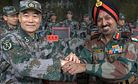 China and India Hold Joint Military Exercise