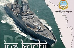 India Commissions Largest Stealth Warship to Date