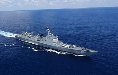 China's Navy Visits Indonesia in Last World Tour Stop