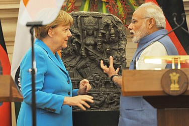 Modi and Merkel Meet, Broadening Indo-German Bilateral Cooperation