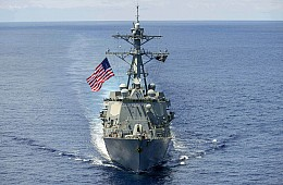 US Navy Ready to Sail Within 12 Nautical Miles of China's Artificial Islands in the South China Sea