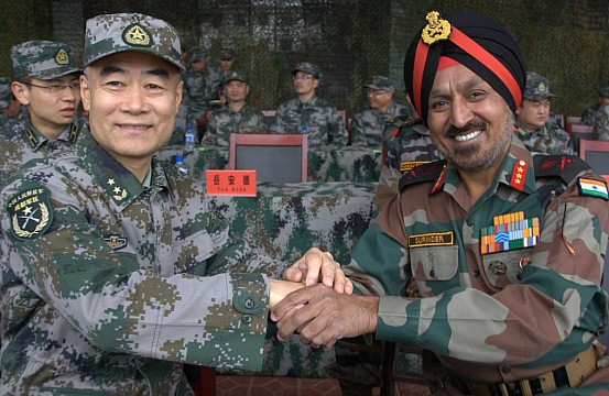 China And India Hold Joint Military Exercise The Diplomat