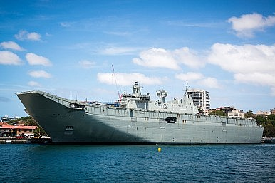 How Will Australia Use Its Massive Warships?