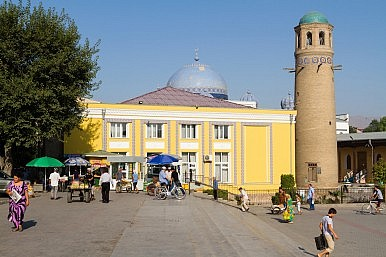 A 'China Town' in Northern Tajikistan