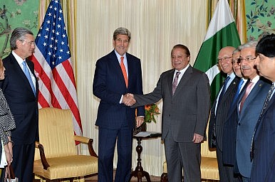 Pakistan's Prime Minister Arrives in Washington With a Broad Agenda