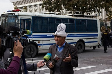 European Environmental Team Harassed in Kyrgyzstan