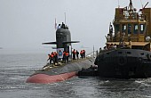 India's First New Stealth Submarine Begins Sea Trials