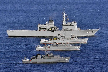 Japan's MSDF Will Help Guard Disputed Islands From Chinese Warships