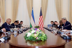 Fences and Offenses: Kerry in Kyrgyzstan and Uzbekistan