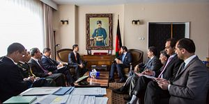 Chinese Vice President Visits Afghanistan