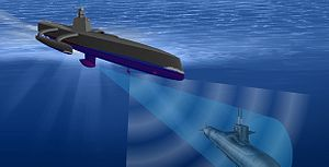 US Navy's Prototype Robot Ship Gets New Sonar