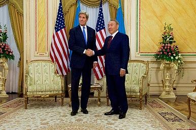 Kerry: US Respects Kazakhstan's Sovereignty