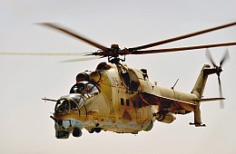 India's Plans to Buy Helicopter Gunships for Afghanistan
