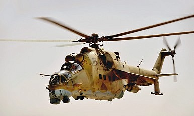 India to Deliver 4 More Helicopter Gunships to Afghanistan