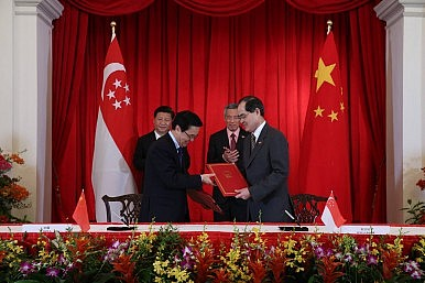 China Seeks to Woo ASEAN Through Singapore