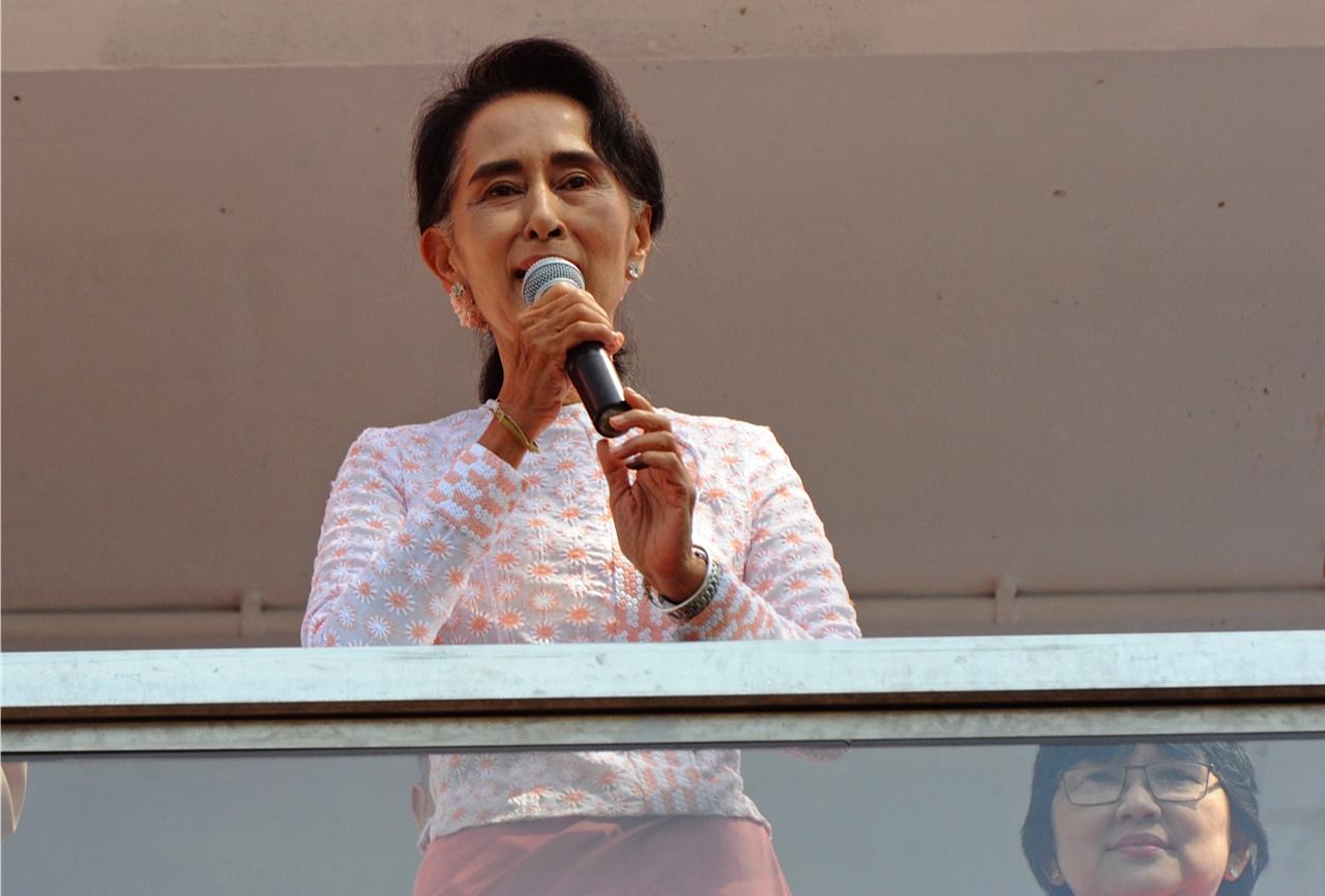 Myanmar's Historic Day