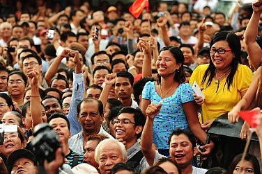 Myanmar's Historic Day