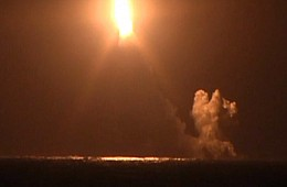 Russia's Deadliest Sub Test Fires Intercontinental Ballistic Missile