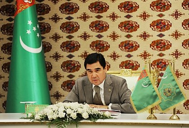 Turkmenistan and Ukraine Bond on Russian Concerns